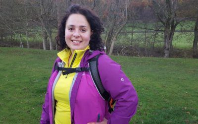 Nabila walked up North Africa's Highest Mountain in Aid of BIG
